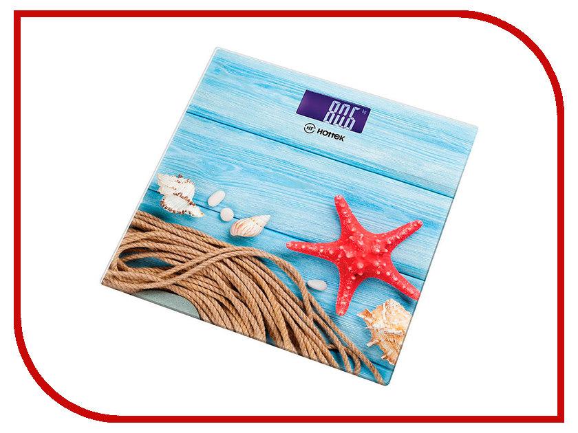 Весы напольные Hottek Морская тематика HT-962-010