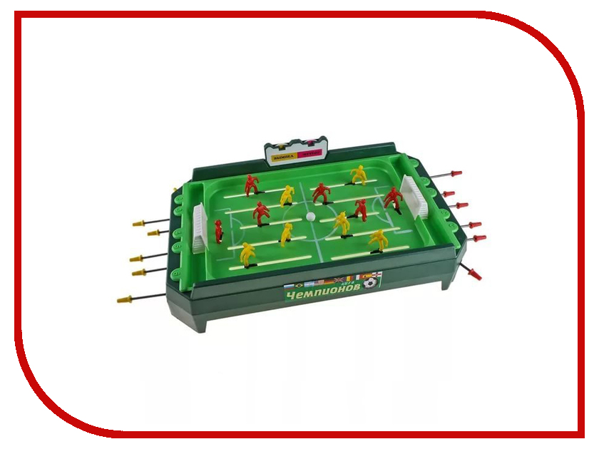 Настольная игра Огонек Футбол С-199 огонек спальня конфетти
