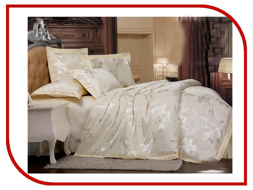 Постельное белье Экзотика DM-5 Комплект Евро Сатин Жаккард постельное белье экзотика эгоист комплект евро сатин