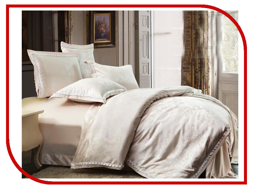 постельное белье экзотика hm 14 комплект евро сатин жаккард Постельное белье Экзотика DM-55 Комплект Евро Сатин Жаккард