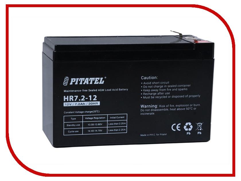 Аккумулятор для ИБП Pitatel HR7.2-12 12V 7.2Ah аккумулятор для ибп apc 106 apcrbc106