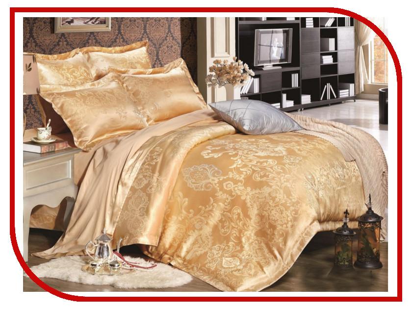 Постельное белье Экзотика HM-14 Комплект Евро Сатин Жаккард постельное белье экзотика эгоист комплект евро сатин