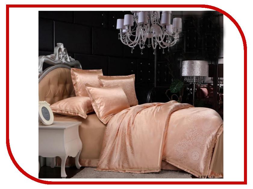 Постельное белье Экзотика HT-3 Комплект Евро Сатин Жаккард постельное белье экзотика эгоист комплект евро сатин
