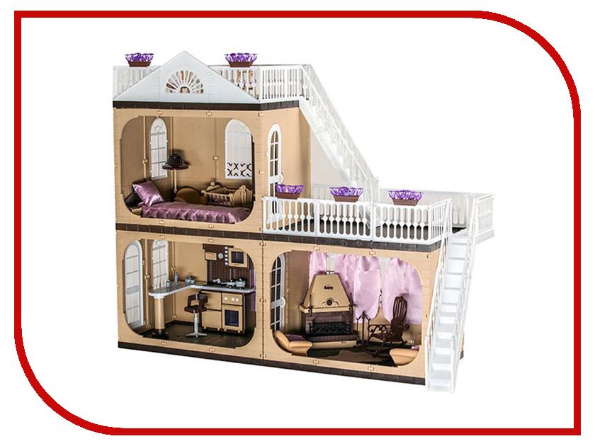 Кукольный домик Огонек Коттедж С-1292 игровой набор огонек коттедж коллекция с 1292 101493