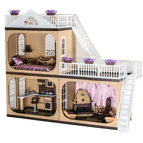 Кукольный домик Огонек Коттедж С-1292
