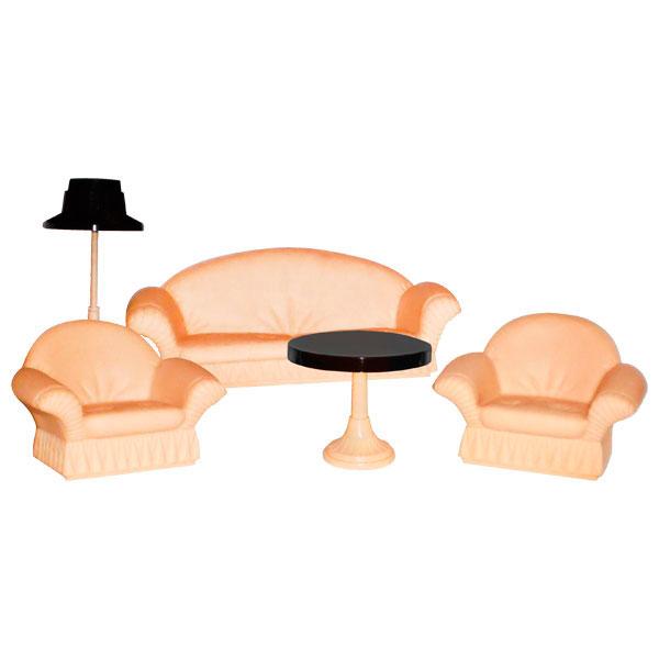 Мебель для кукольного домика Огонек С-1302