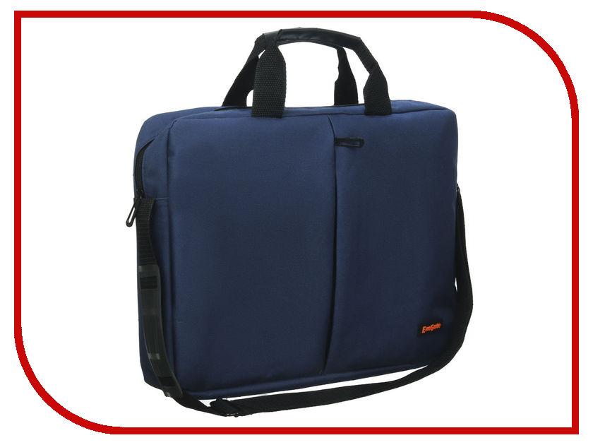 Аксессуар Сумка 15.6 Exegate Office F1590 Dark-Blue
