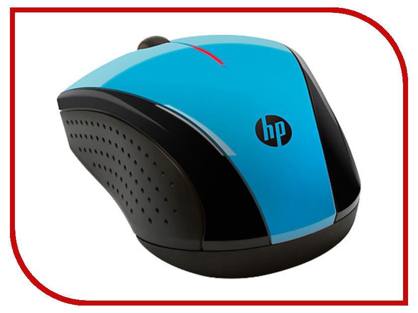 мышки X3000 Wireless Mouse  Мышь HP X3000 Wireless Mouse Aqua Blue K5D27AA