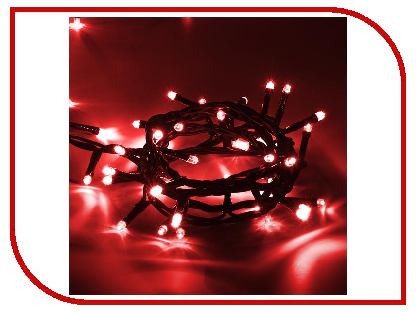 Гирлянда Vegas Нить 100 светодиодов 10m Red 55065 electrical pvc insulation adhesive tape red 1 8cm x 10m