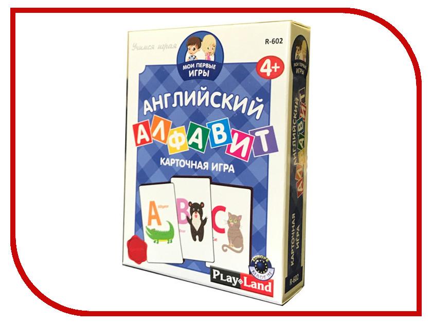 Настольная игра PlayLand Английский алфавит R-602