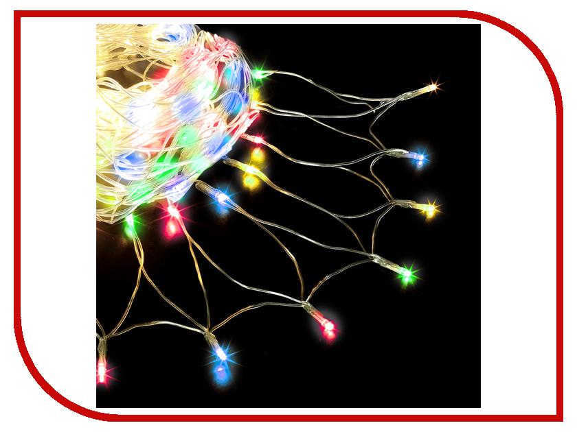 Гирлянда Vegas Сеть 176 светодиодов 2x1.5m Mix 55073 vegas душевая дверь vegas ep 75 профиль матовый хром стекло фибоначчи