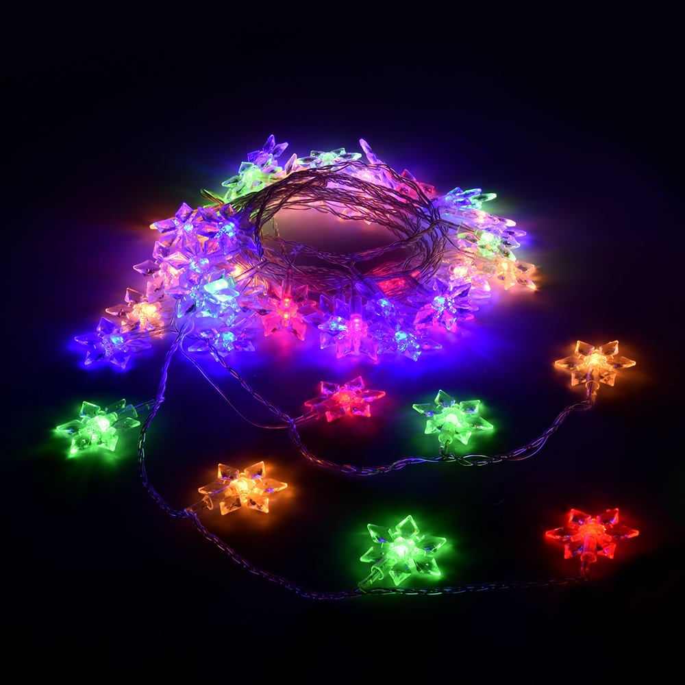 Гирлянда Vegas Цветочки 80 светодиодов 10m Mix 55084 цена