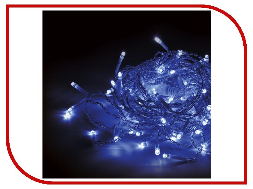 Гирлянда Vegas Бахрома 64 светодиода 2x1m Blue 55014 vegas душевая дверь vegas ep 70 профиль матовый хром стекло зебра