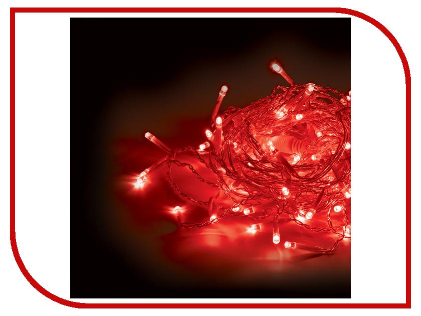 Гирлянда Vegas Бахрома 72 светодиода 3x0.6m Red 55009 vegas душевая дверь vegas ep 75 профиль матовый хром стекло фибоначчи