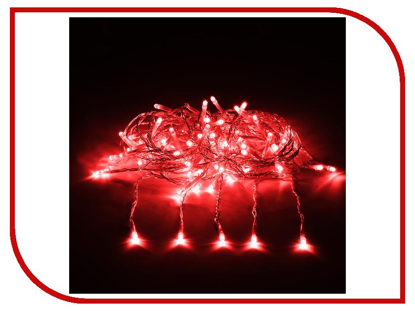 Гирлянда Vegas Занавес 192 светодиода 1x4m Red 55027 vegas душевая дверь vegas ep 70 профиль матовый хром стекло зебра