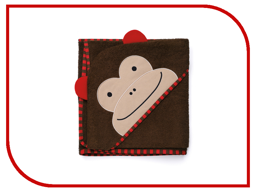 Полотенце с капюшоном Skip Hop Обезьяна SH 235254 skip hop детский бабочка sh 212121