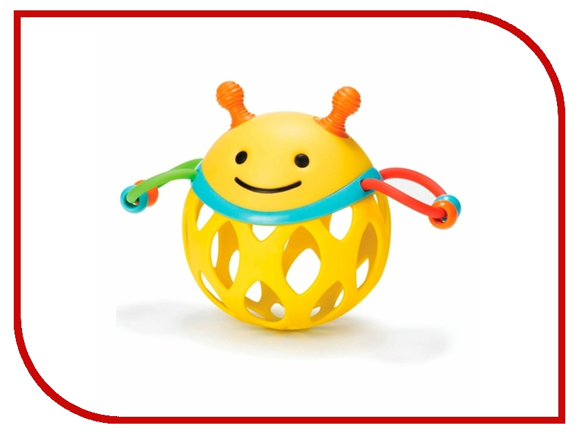 Погремушка Skip Hop Шар-пчела SH 303102 skip hop детский бабочка sh 212121