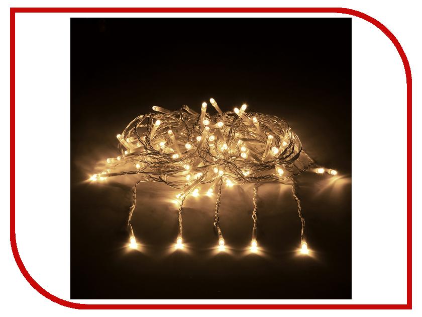 Гирлянда Vegas Занавес 192 теплых светодиода 1x4m 55024 vegas душевая дверь vegas ep 70 профиль матовый хром стекло зебра