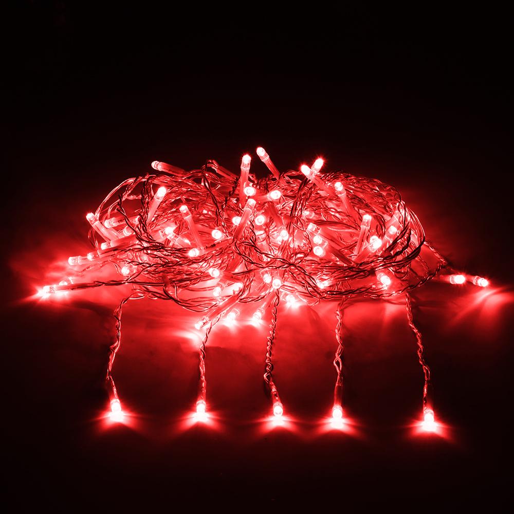 Гирлянда Vegas Занавес 96 светодиодов 1x2m Red 55021