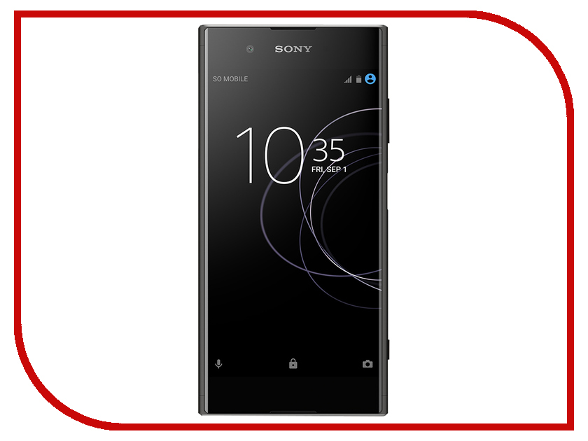 Сотовый телефон Sony Xperia XA1 Plus Dual 32GB Black смартфон sony xperia xa1 dual белый