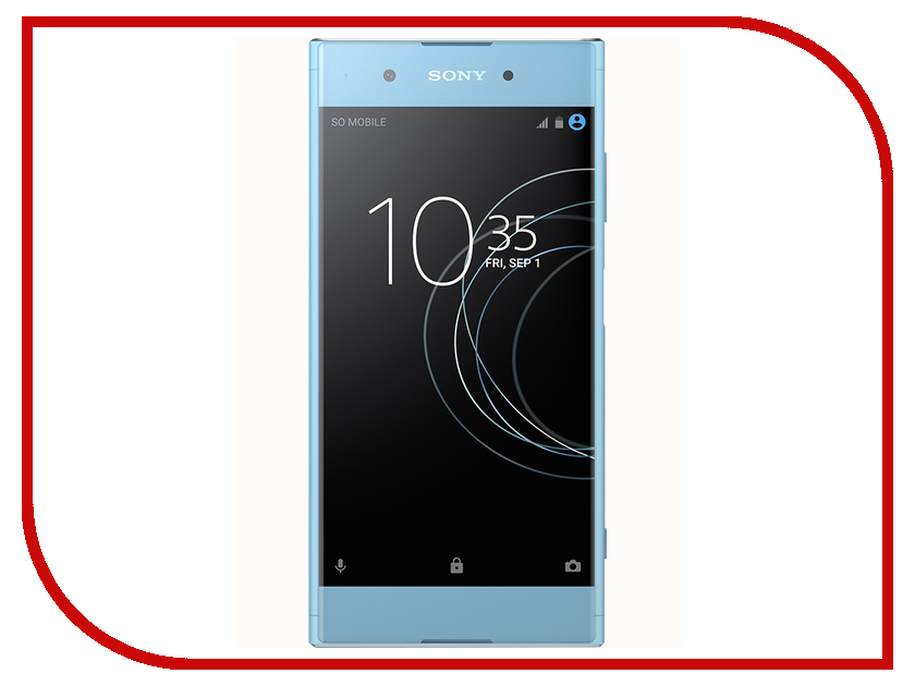 Сотовый телефон Sony Xperia XA1 Plus Dual 32GB Blue смартфон sony xperia xa1 dual белый