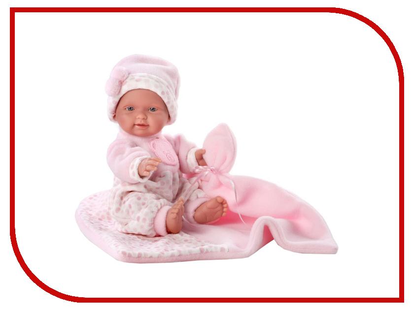 Кукла Llorens Juan Кукла Бэбита Роза c одеялом L 26262 llorens кукла эдис 38см l 38612
