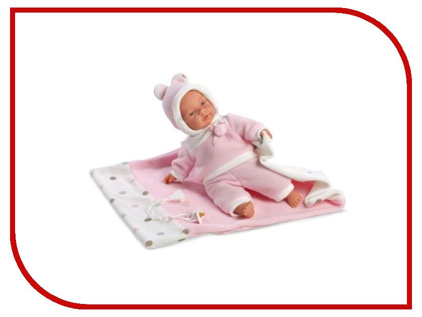 Кукла Llorens Juan Кукла Люсия с одеялом L 33403 llorens кукла эдис 38см l 38612