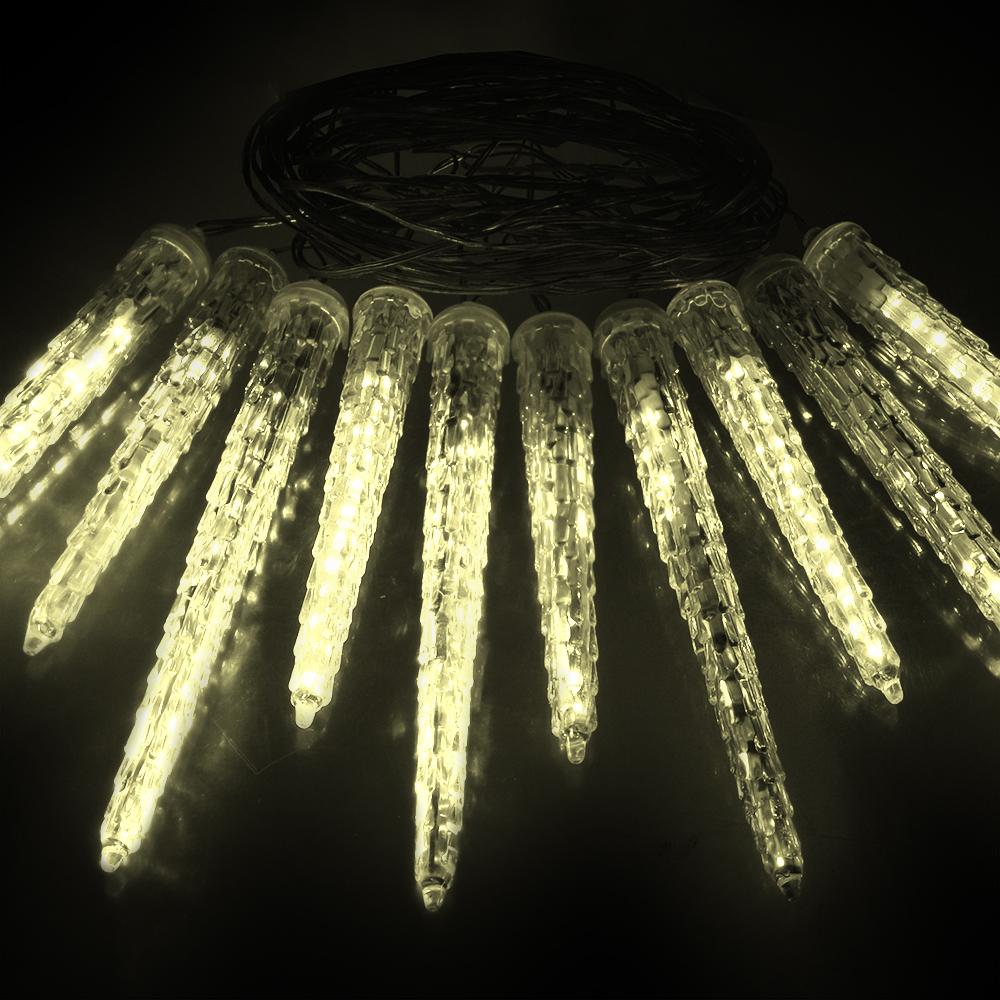 Гирлянда Vegas Сосульки 10шт 40 теплых светодиодов 2m 55036