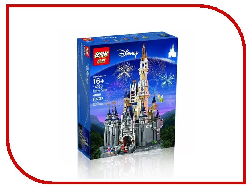 Конструктор Lepin Disney Сказочный замок 4080 дет. 16008 конструктор lepin fairytale сказочный замок спящей красавицы 360 дет 25012