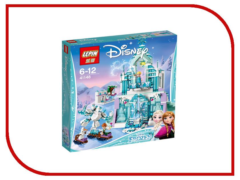 Конструктор Lepin Disney Волшебный Ледяной замок Эльзы 731 дет. 25002 конструктор lepin fairytale сказочный замок спящей красавицы 360 дет 25012