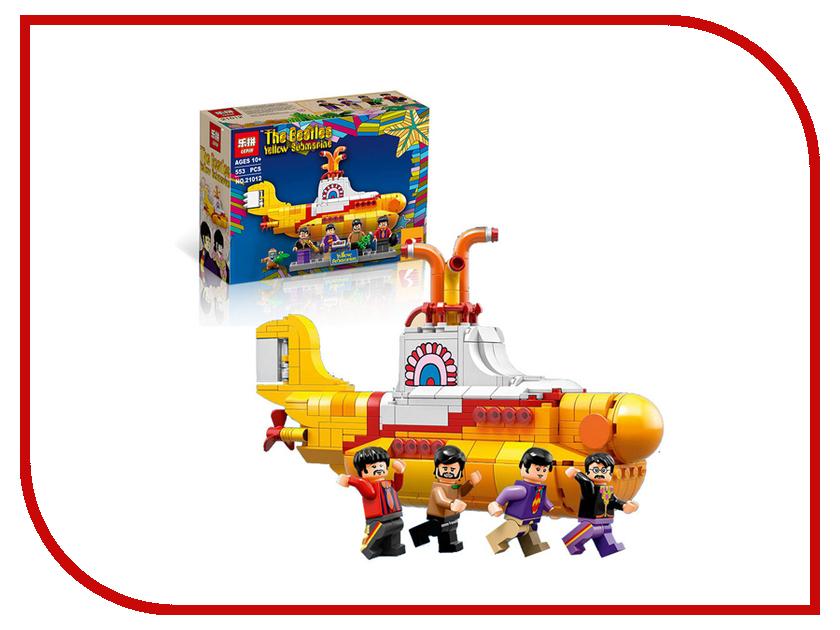 Конструктор Lepin Ideas Желтая Подводная Лодка Битлз 553 дет. 21306 игрушка водная душ подводная лодка и кит yookidoo