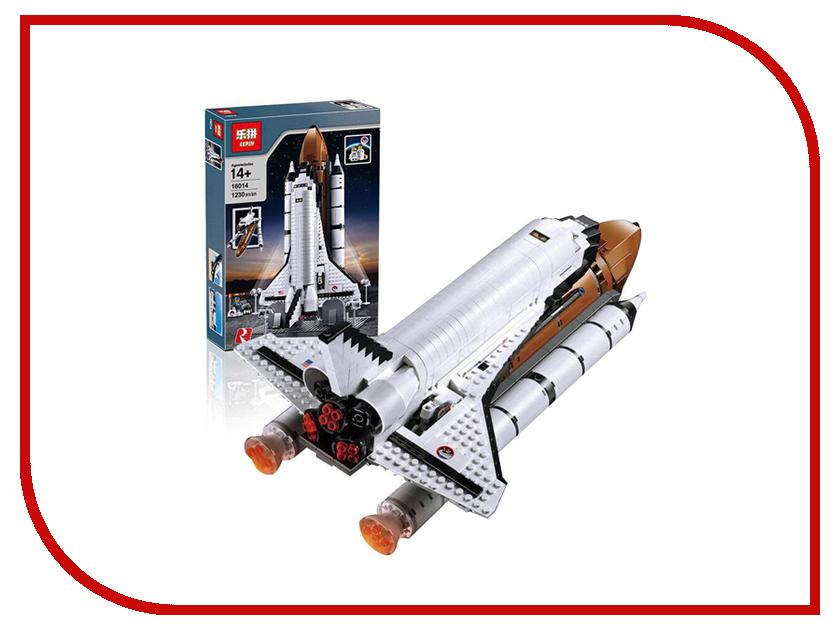Конструктор Lepin Exclusive Космический шаттл 1230 дет. 16014 конструктор lepin creators магазинчик на углу 3 в 1 491 дет 24007