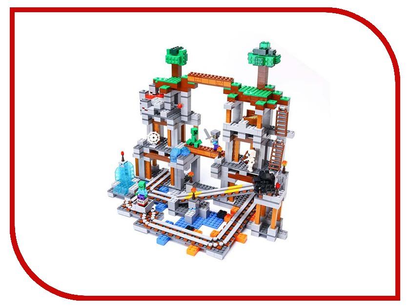 Конструктор Lepin Mineeraft Шахта 922 дет. 18011 конструктор lepin fairytale сказочный замок спящей красавицы 360 дет 25012