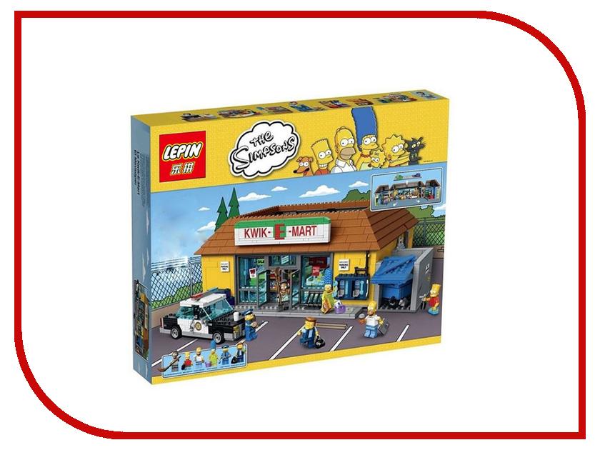 Конструктор Lepin Creators Simpsons Магазин На скорую руку 2220 дет. 71016 ванс магазин