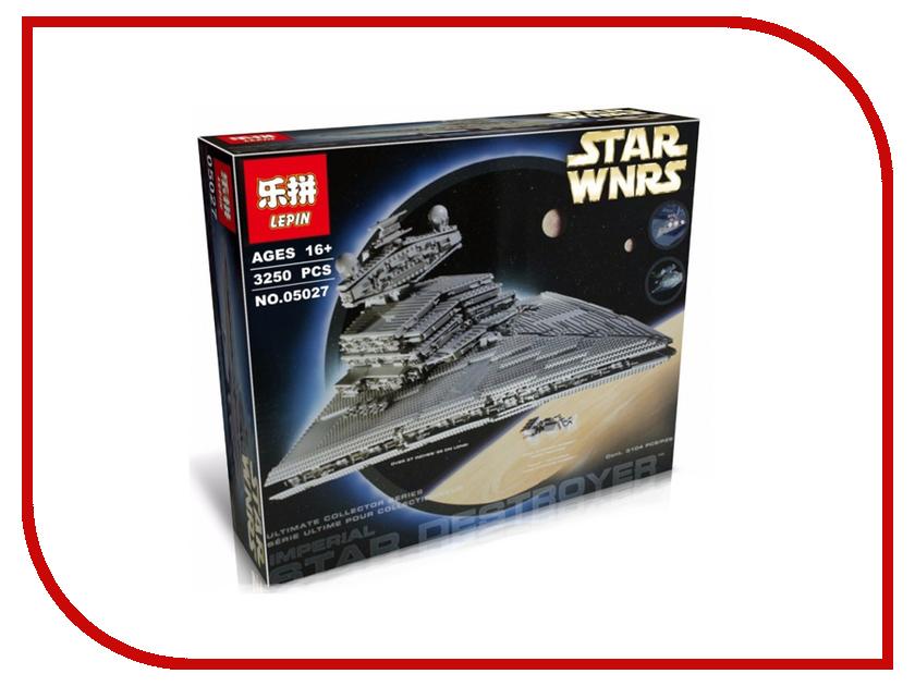 Конструктор Lepin Star Wnrs Большой Имперский Звездный Разрушитель 3250 дет. 05027 цены