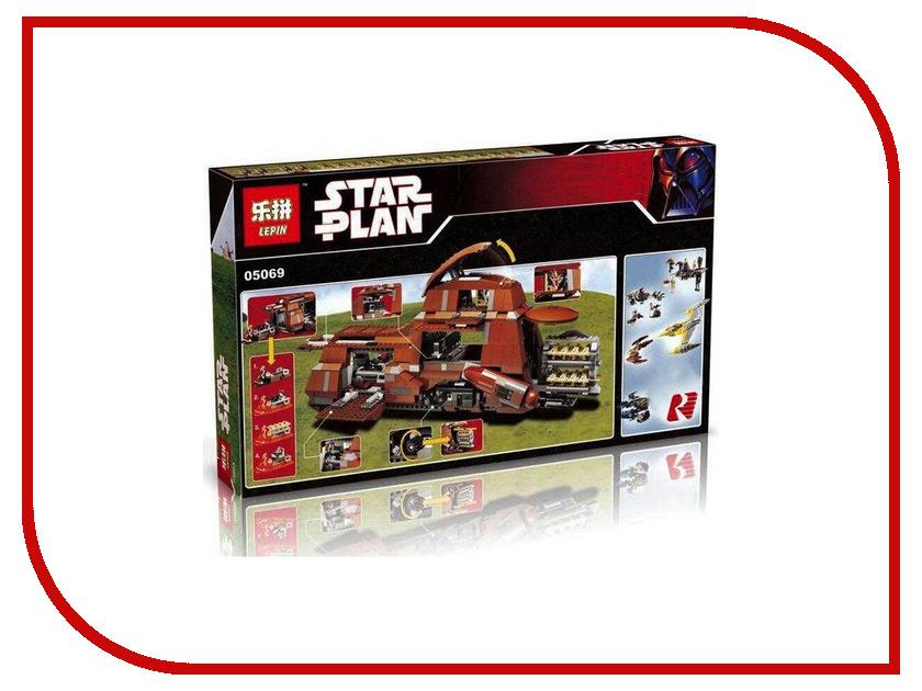 Конструктор Lepin Star Plan МТТ Торговой Федерации 1338 дет. 05069 конструктор lepin star plan стрела 800 дет 05113