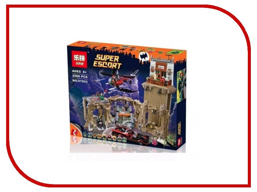 Конструктор Lepin Super Escort Логово Бэтмена 2566 дет. 07053 ведьмино логово