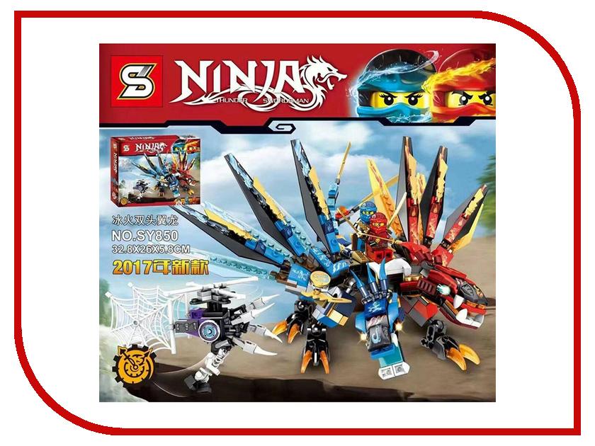 Конструктор Lepin Ninja Дракон Джея 429 дет. 06049 дракон короля гоблинов 41183