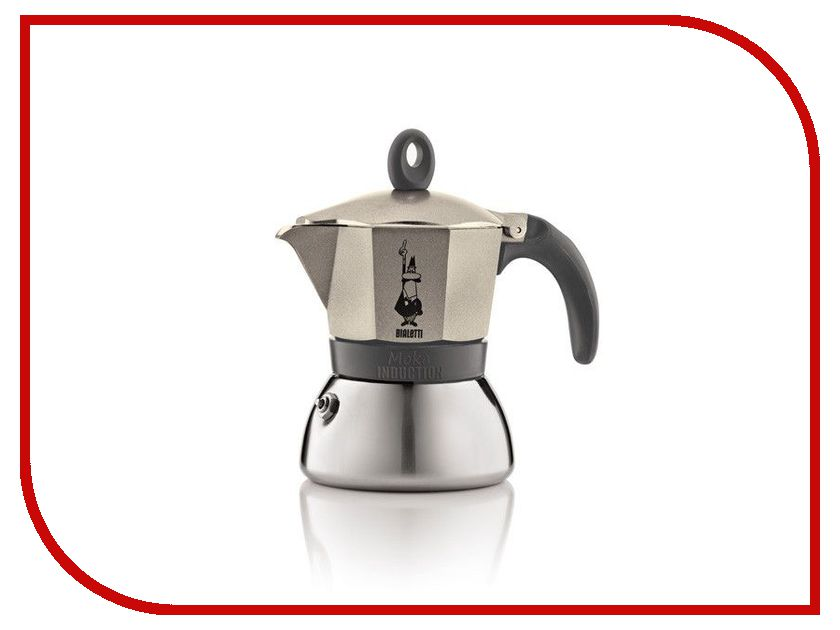 Кофеварка Bialetti Moka Induction Gold 6 порций 4833 кофеварка bialetti moka induction gold 6 порций 4833