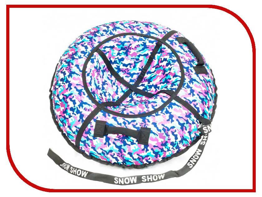 Тюбинг SnowShow Стандарт 105cm Khaki Pink