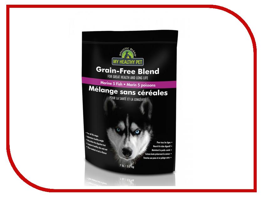 Корм Holistic Blend 5 рыб и морепродукты, беззерновой 3.2kg для собак 5-88112 blend blend bl203emhen93