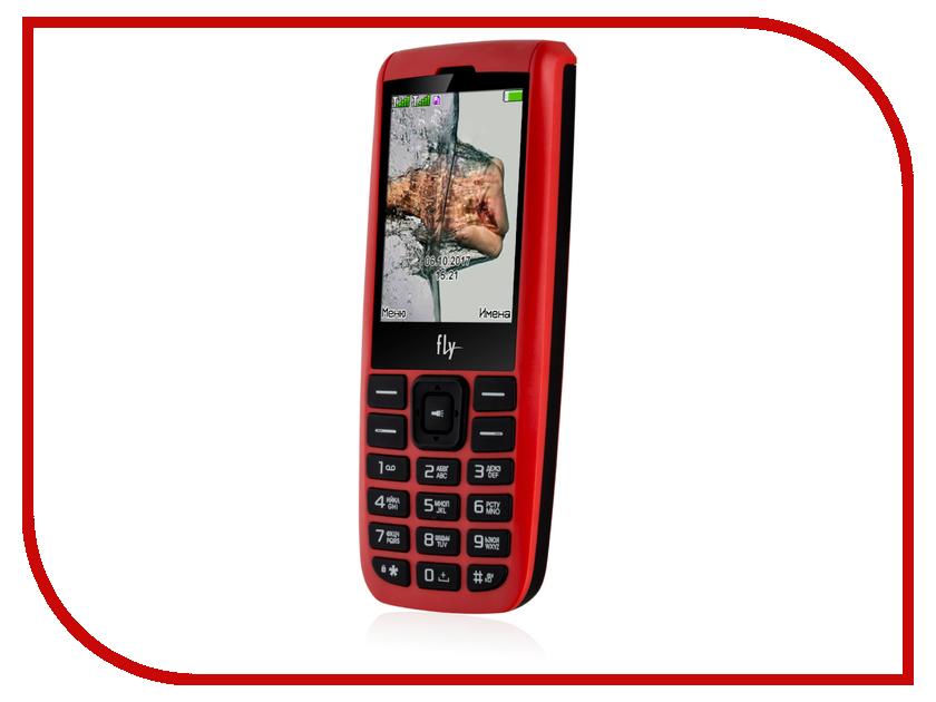 Сотовый телефон Fly FF247 Red мобильный телефон fly ff247 green