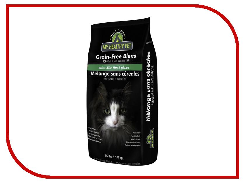 Корм Holistic Blend 5 морских рыб, беззерновой 6.8kg для кошек 5-91116 шорты blend blend bl203emppw21