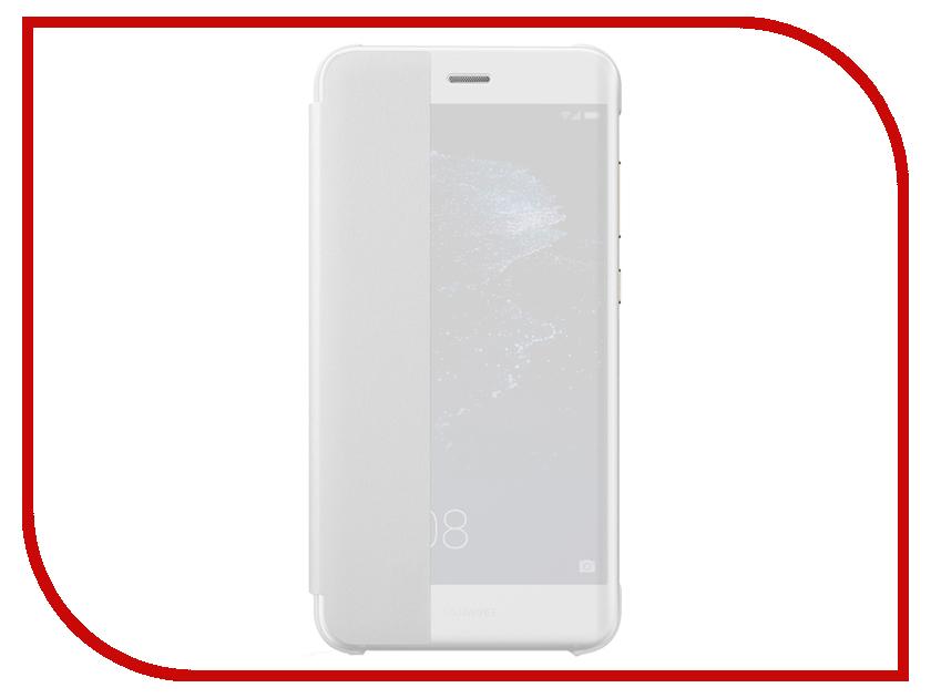 Аксессуар Чехол Huawei P10 Lite View White 51991909 аксессуар чехол huawei p10 lite smart case light grey 51991907