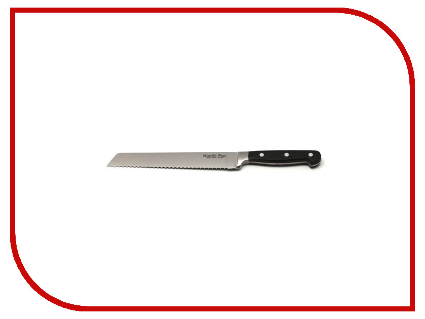Нож Atlantis 24103-SK - длина лезвия 200мм кухонные ножницы atlantis 20cm 24111 sk