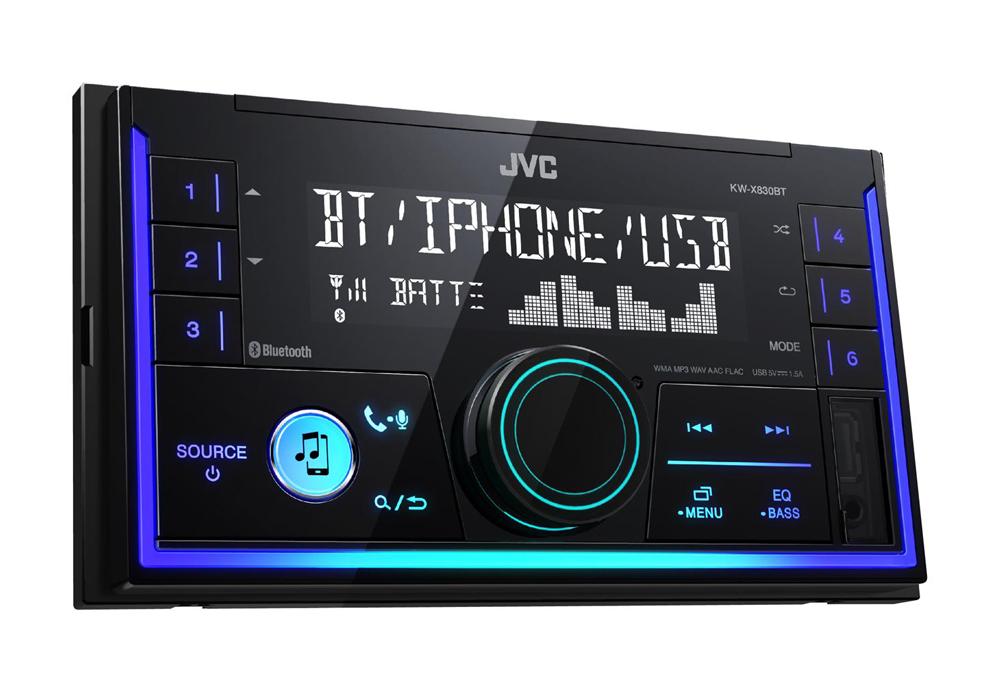 Автомагнитола JVC KW-X830BT стоимость