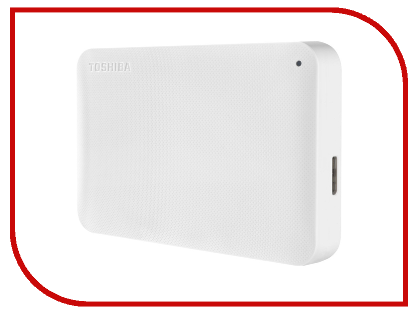 Жесткий диск Toshiba Canvio Ready 500Gb White HDTP205EW3AA