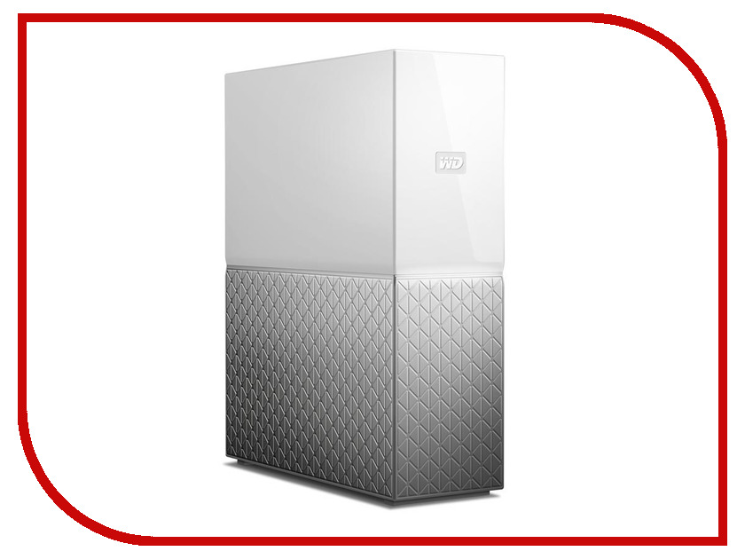 Сетевое хранилище Western Digital My Cloud Home 6Tb WDBVXC0060HWT-EESN