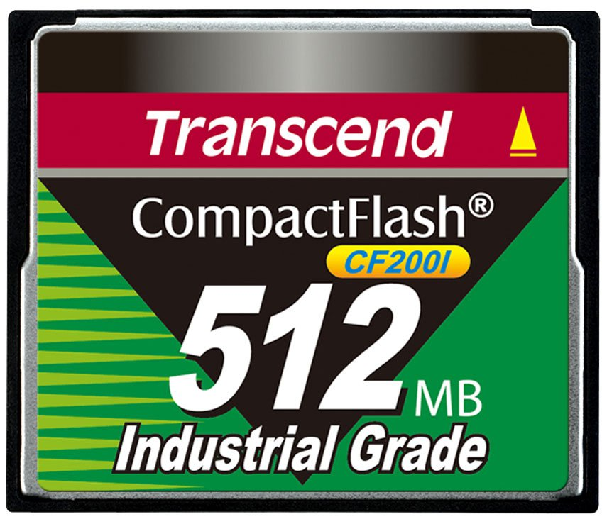 Карта памяти 512Mb - Transcend 200x Industrial Grade Compact Flash TS512MCF200I