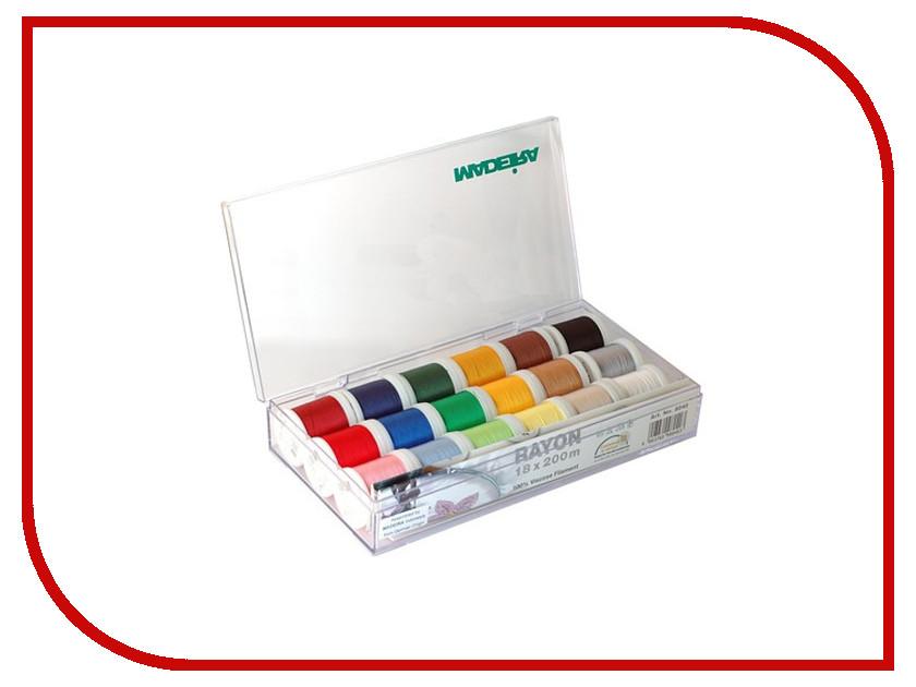 Набор ниток для швейных машин Madeira Rayon 8040 утюг electrolux edb 8040 отзывы